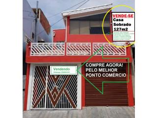 CASA SOBRADO NA VILA GUILHERMINA - ZONA LESTE SÃO PAULO SP
