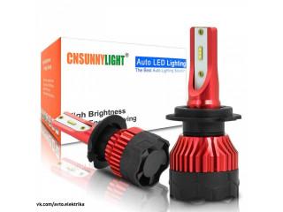 Светодиодные лампы для автомобильных фар ANGRONG H7