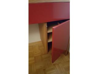Massivholz Schmuckmöbel mit Glaseinsatz