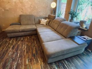 Couch Sofa L Form mit Schlaffunktion
