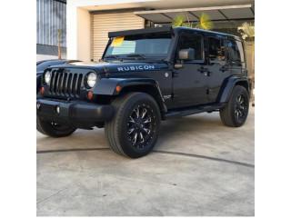 Jeep Rubicon Pa' montiar lo mejor, en alquiler!