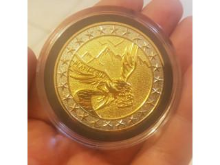 Moneda física PLATINCOIN