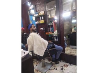 Modern hair cut
