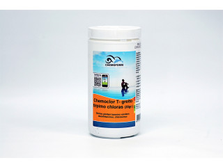 Chemoclor CHLORINE Tabs 20g x 50pcs. quick dissolving (chlorine shock) for swimming pool disinfection, 1 kg