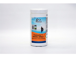 Chemoclor CHLORINE Tabs 200 g x 5 pcs. slow dissolving for swimming pool disinfection, 1 kg