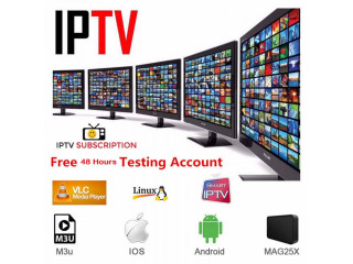 IPTV Premium Subscription With Live TV VOD Movies HD Private