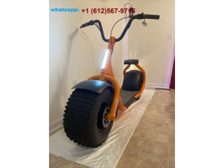 Skooza K1 Big Wheel Electric Scooter Whats-App : +16125679715