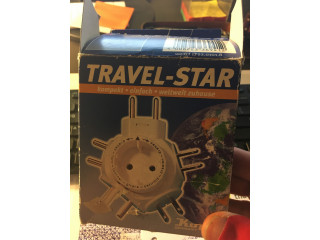 Travel Star         Multi use electric adapter