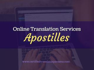 Traducciones Certificadas / Certified Translations ONLINE