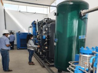 Fabricacion de plantas productoras de oxigeno